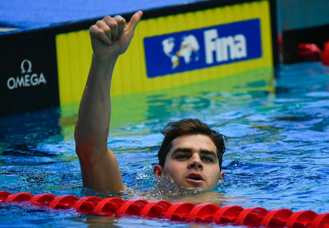 Andrew breaks another world record to win third gold medal at FINA World Junior Swimming Championships