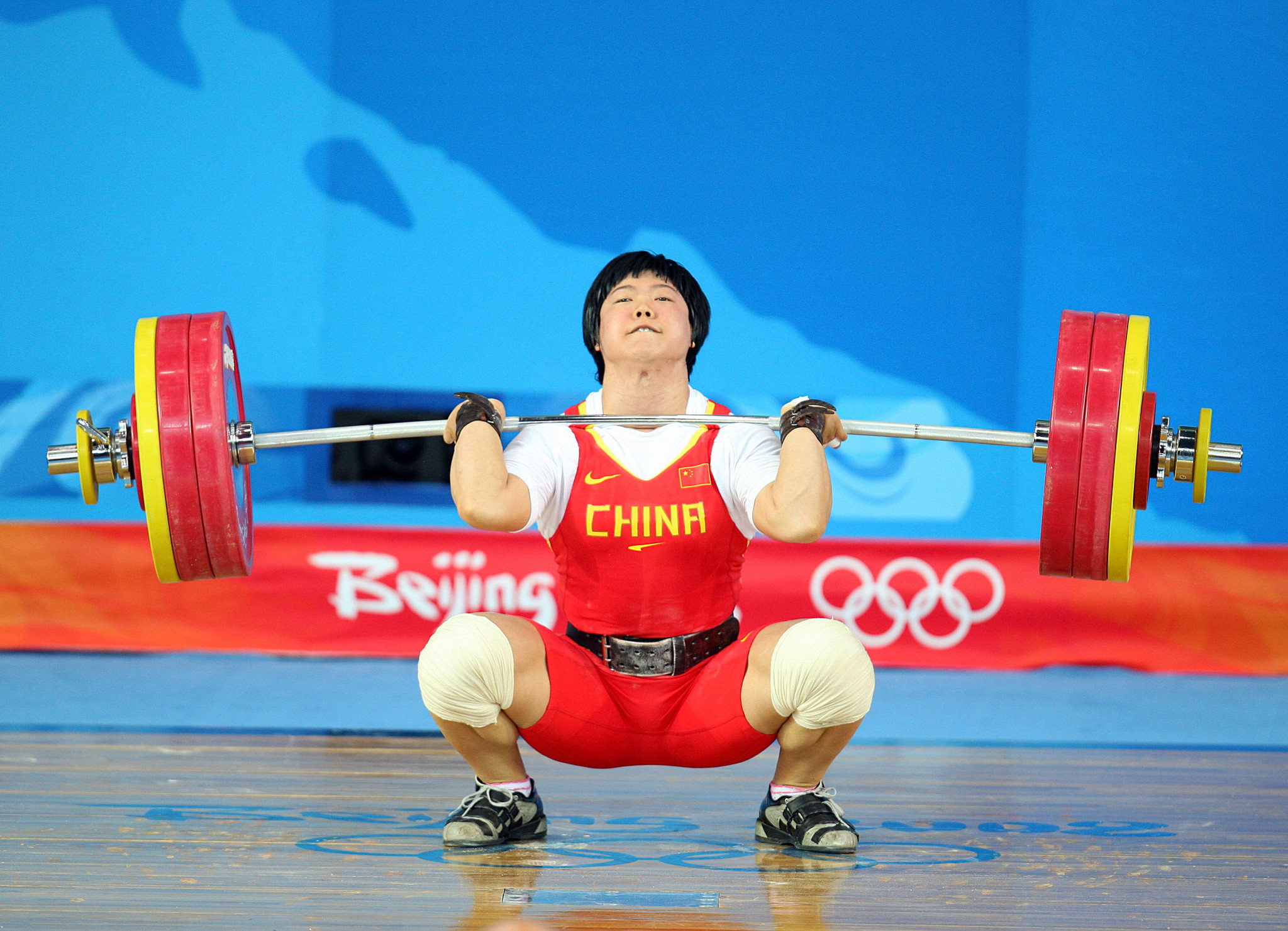 China facing year's ban from weightlifting after CAS confirm decision to strip them of two Olympic gold medals
