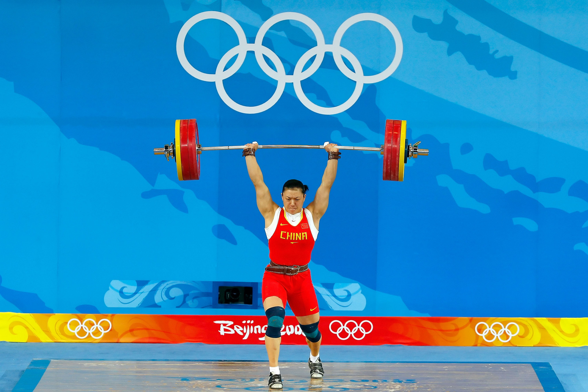 Lei Cao was one of three Chinese weightlifters stripped of Olympic gold medals from Beijing 2008 following positive drugs tests after their samples were re-analysed ©Getty Images