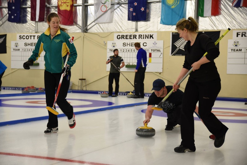 World Curling Federation stages Stepping Stones programme in New Zealand