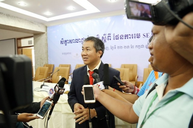 National Olympic Committee of Cambodia hold seminar to discuss plan to host 2023 Southeast Asian Games