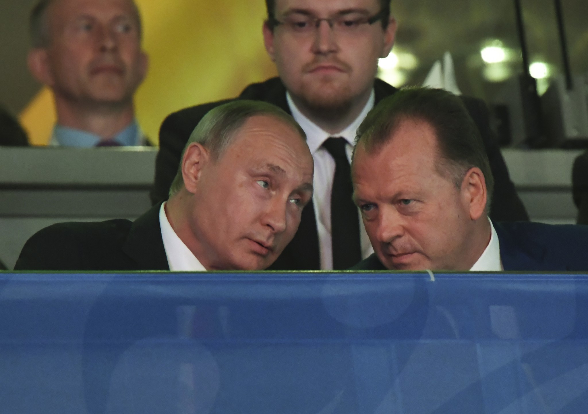Putin visit to World Championships hailed by IJF President Marius Vizer