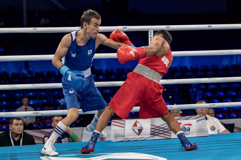 Flyweight Jasurbek Latipov was among a quintet of winners for Uzbekistan ©AIBA