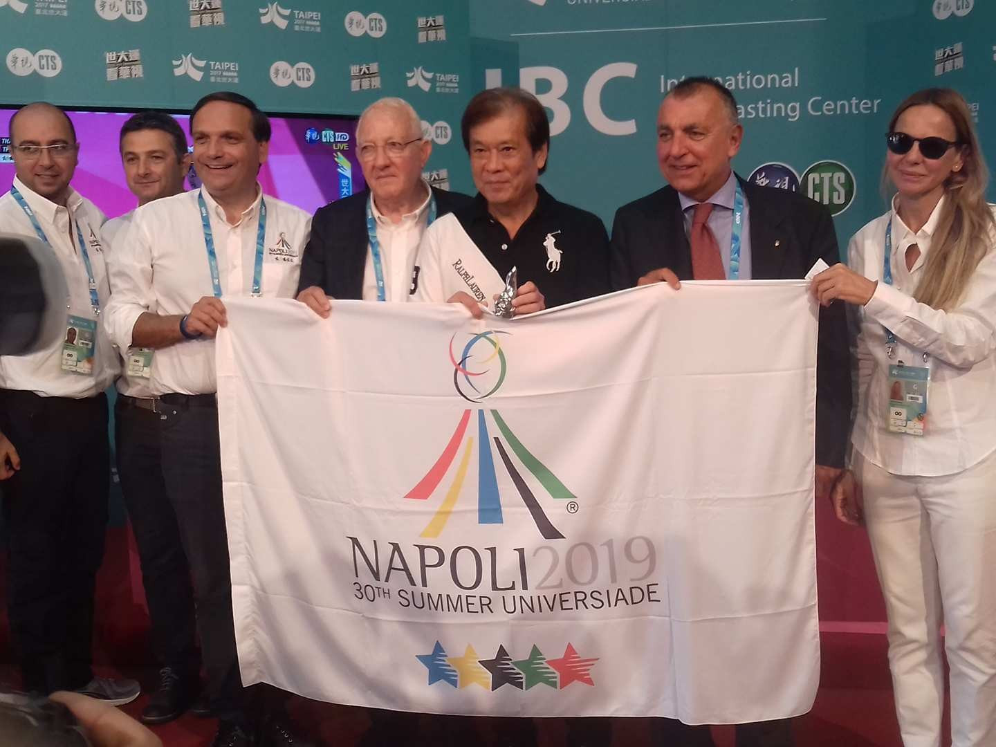 Naples 2019 praised Taipei's staging of the Universiade and promised a successful 30th edition ©ITG