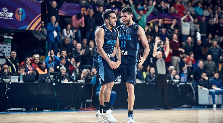 Argentina came from behind to claim a dramatic overtime win against Canada today to continue their perfect start to the FIBA AmeriCup ©FIBA
