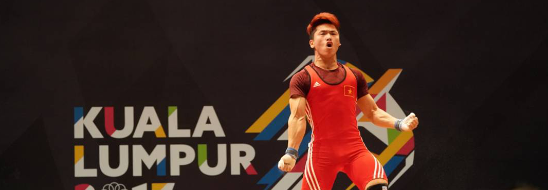 Trinh Van Vinh set a Games record to win weightlifting gold for Vietnam ©Kuala Lumpur 2017