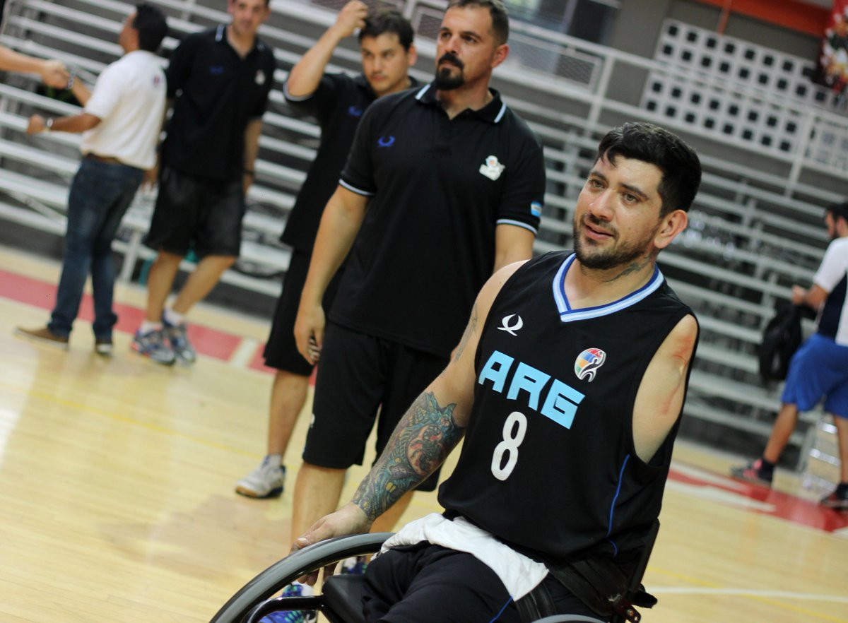 Argentina beat Venezuela 75-40 in the men's competition today ©INSPIRE Colombia