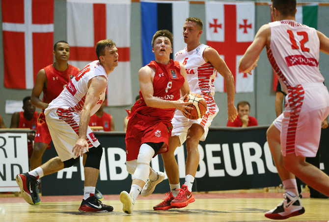England and Scotland will feature in the opening match of the men's basketball tournament at the Gold Coast 2018 Commonwealth Games ©Basketball England
