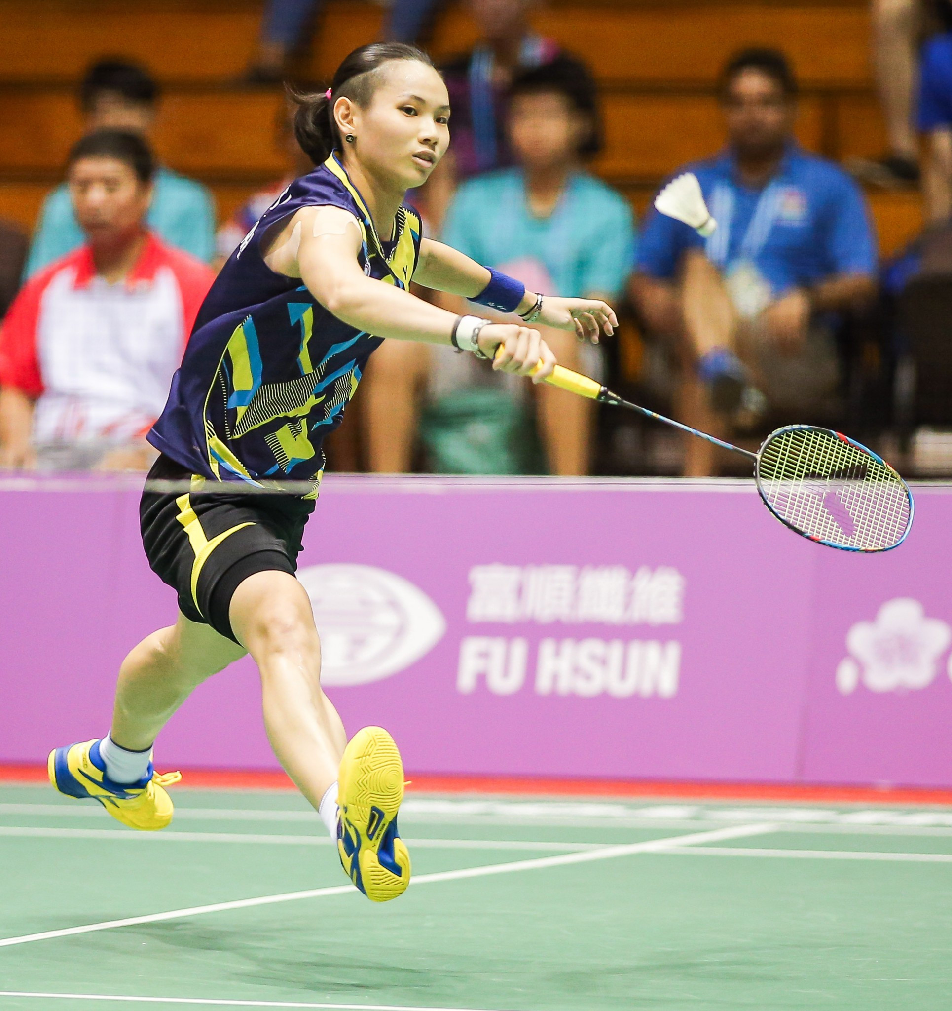 Hosts dominate badminton finals on penultimate day of Taipei 2017