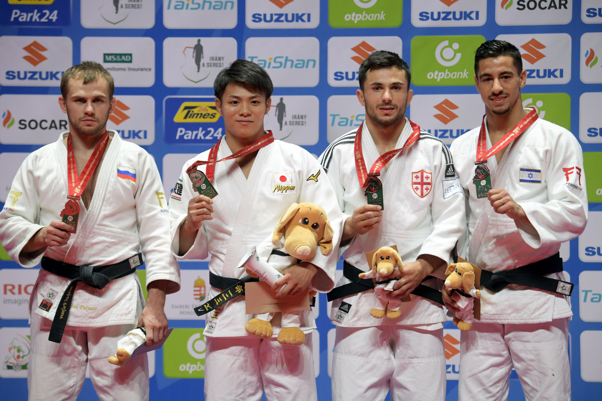 Hifumi Abe continued the Japanese dominance by taking gold at under 66kg ©Getty Images