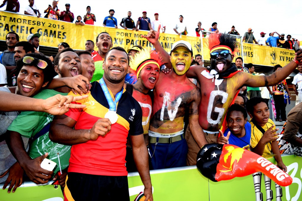 Papua New Guinea medallists from Port Moresby 2015 are all to receive financial rewards ©Port Moresby 2015
