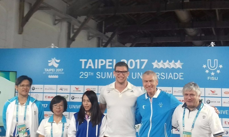 "Summer Universiade a ""wonderful advert"" for Taipei claims Matytsin"