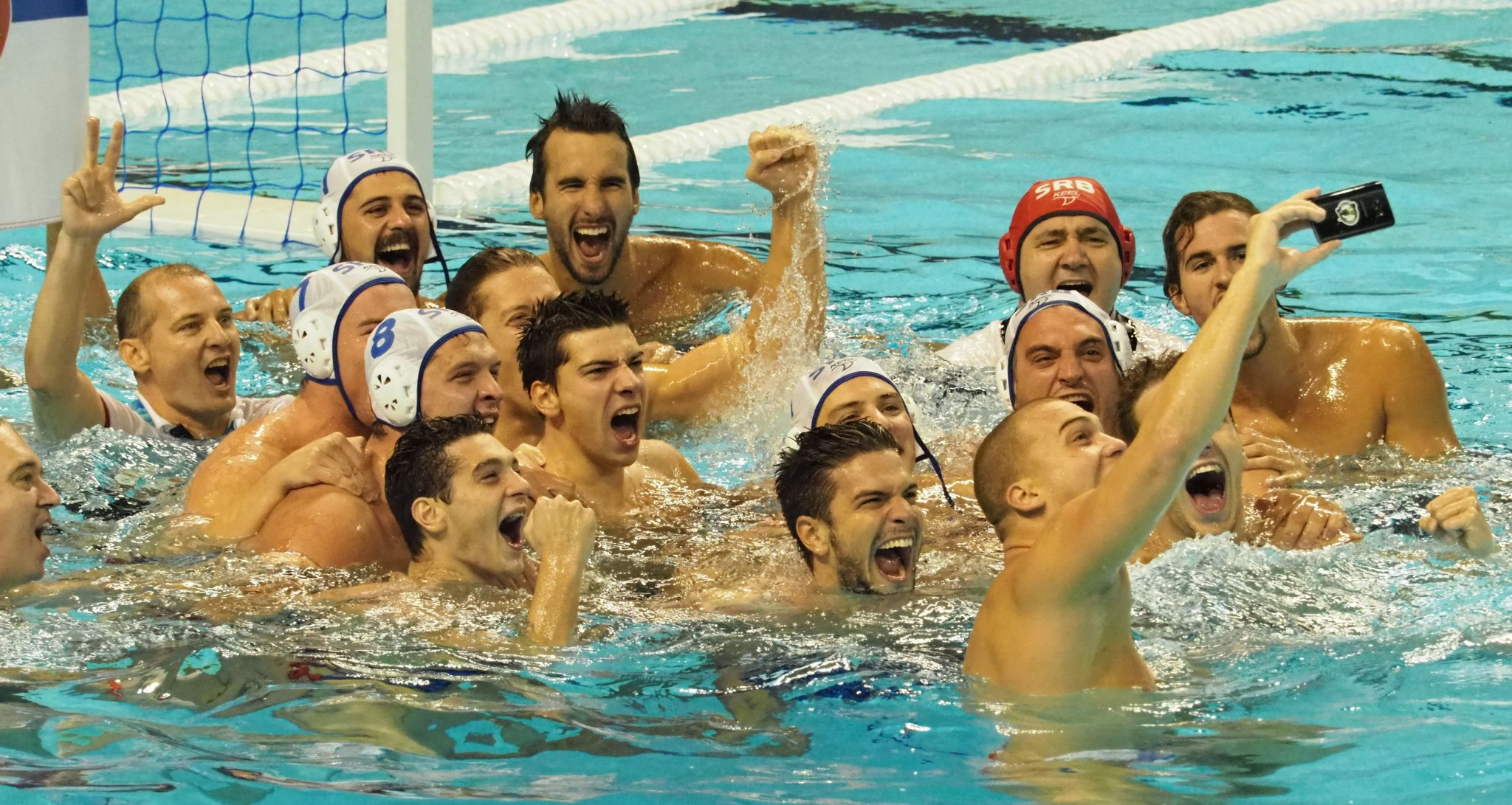 Serbia claimed the men's water polo title by beating Russia ©Taipei 2017