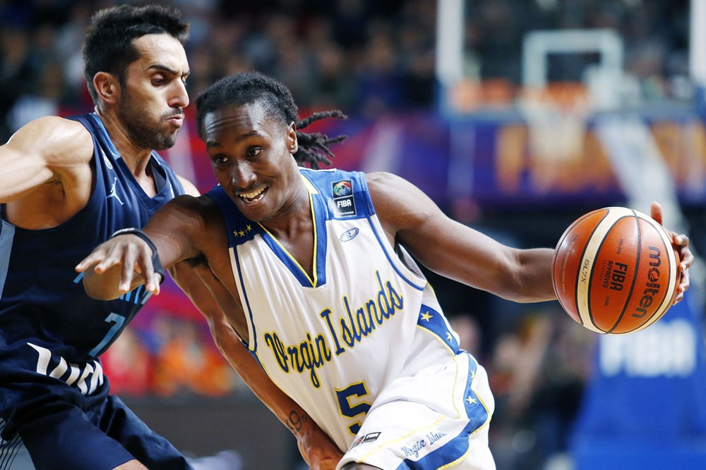 Virgin Islands qualified for the semi-finals of the International Basketball Federation AmeriCup despite a heavy defeat ©FIBA