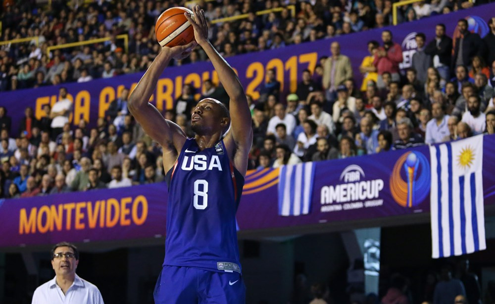 The United States defeated hosts Uruguay  ©FIBA