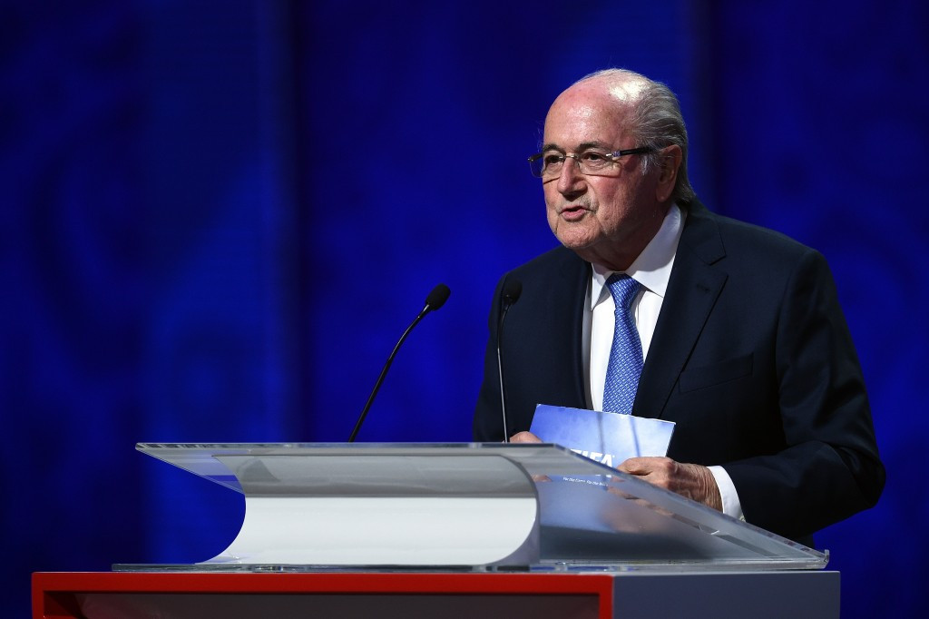 Blatter exits International Olympic Committee
