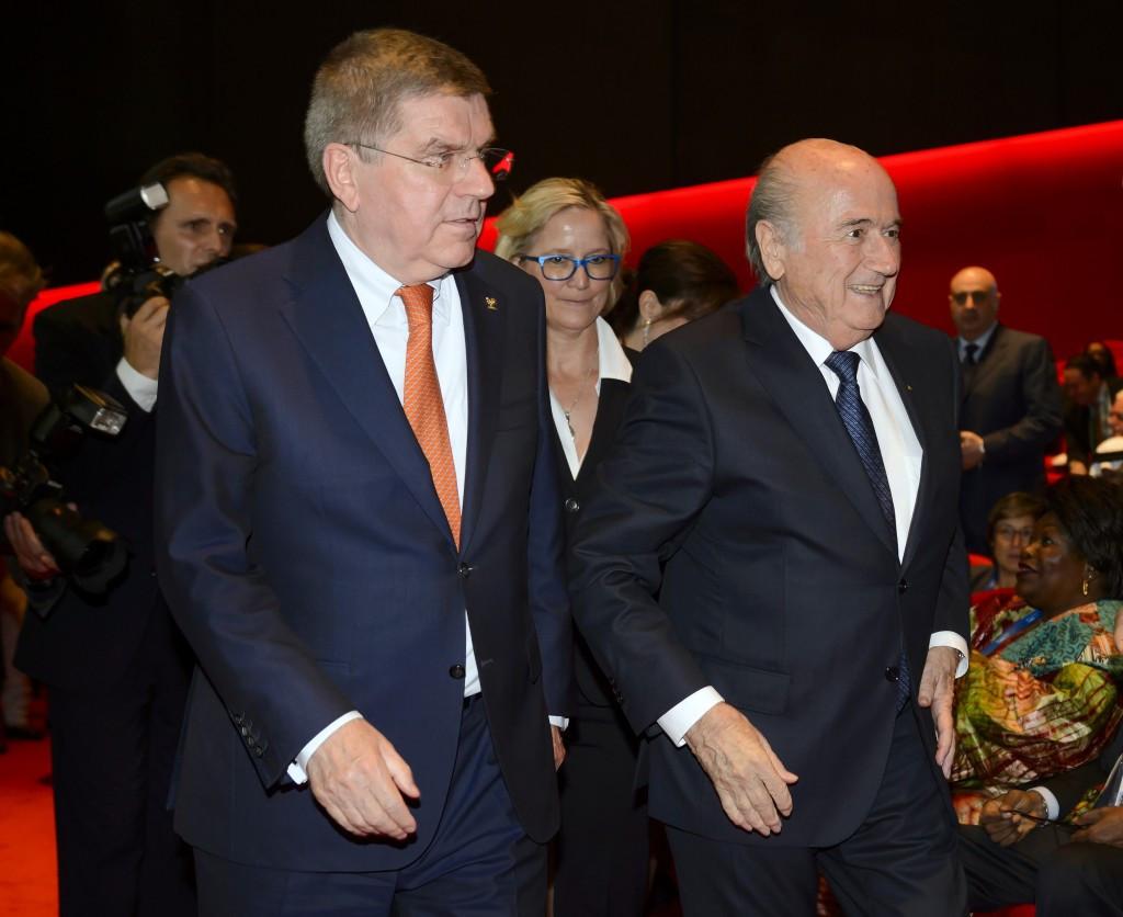 Nenad Lalovic replaces Sepp Blatter as an IOC representative