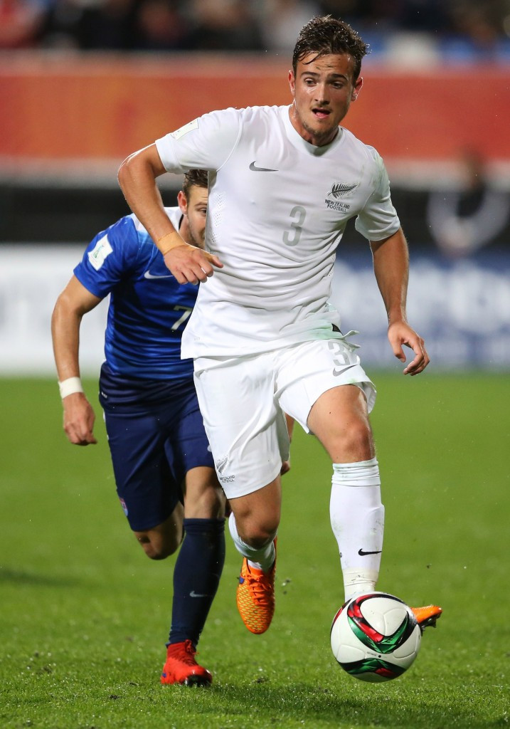 New Zealand left-back Deklan Wynne is at the centre of the controversy