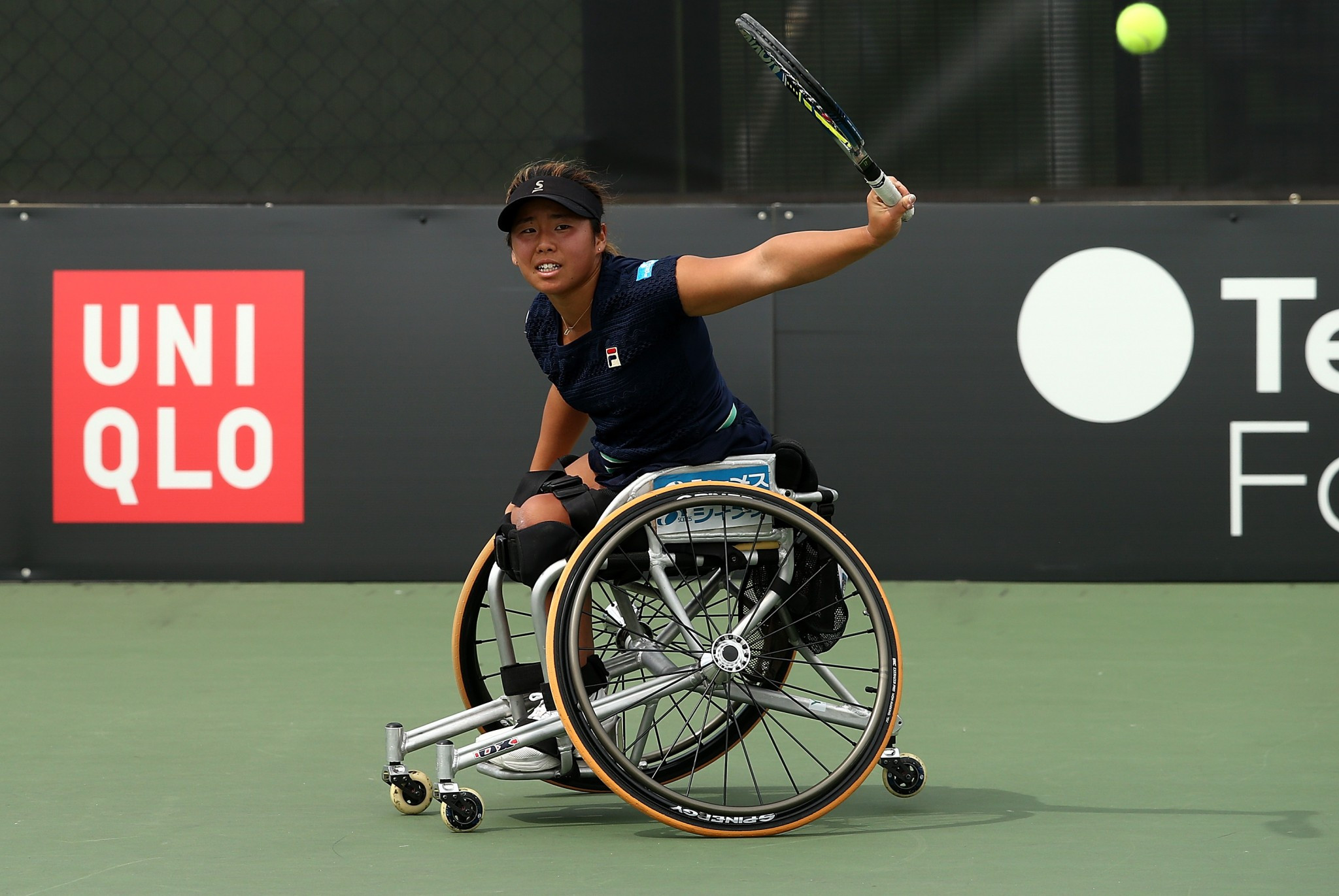 Top seed Yui Kamiji of Japan was on dominant form ©Getty Images