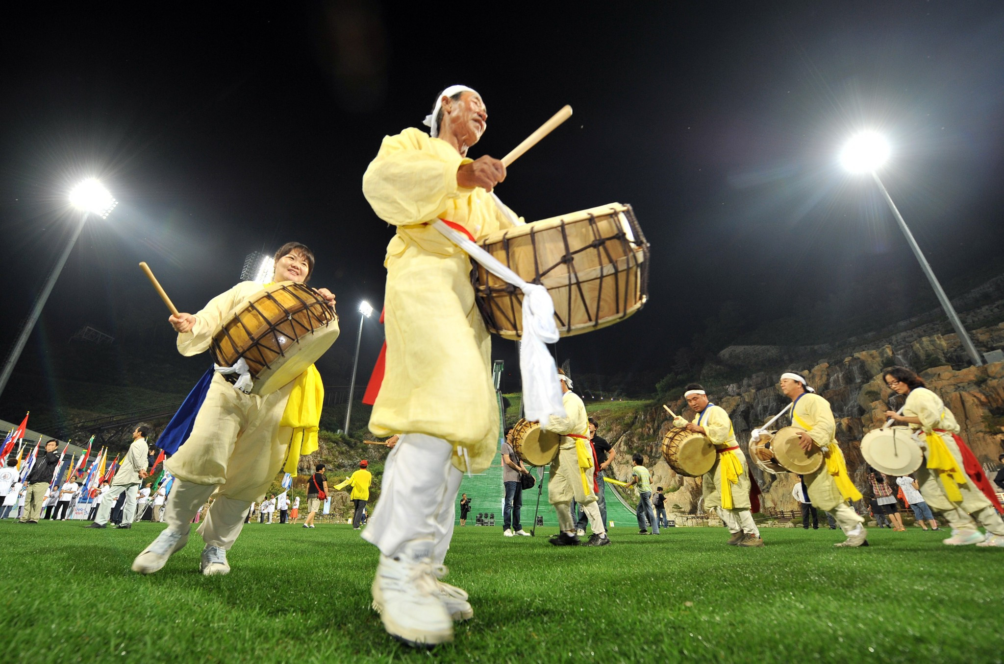 Many cultural activities are taking place to promote Pyeongchang 2018 ©Pyeongchang 2018