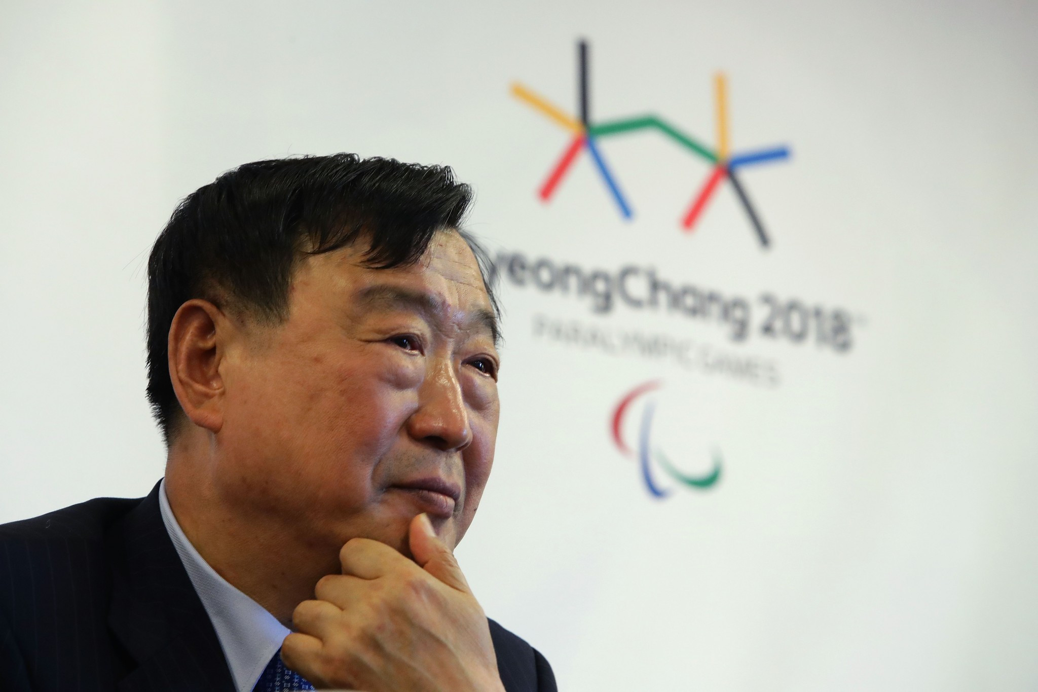 The Pyeongchang 2018 Organising Committee headed by Lee Hee-beom claim to be confident that ticket sales will enjoy a late surge ©Getty Images