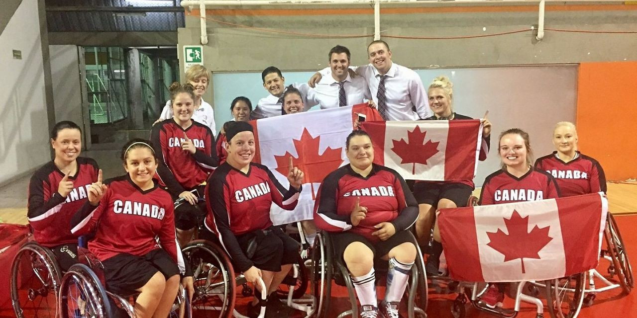 Canada beat the US in the women's final ©IWBF