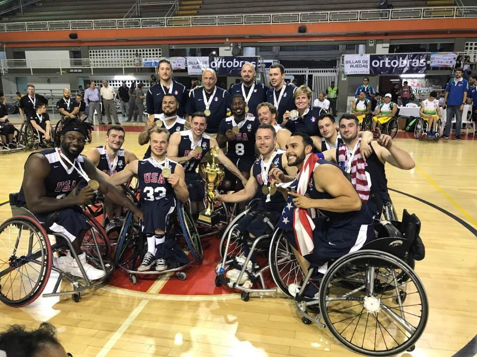 United States complete defence of men's IWBF Americas Cup title