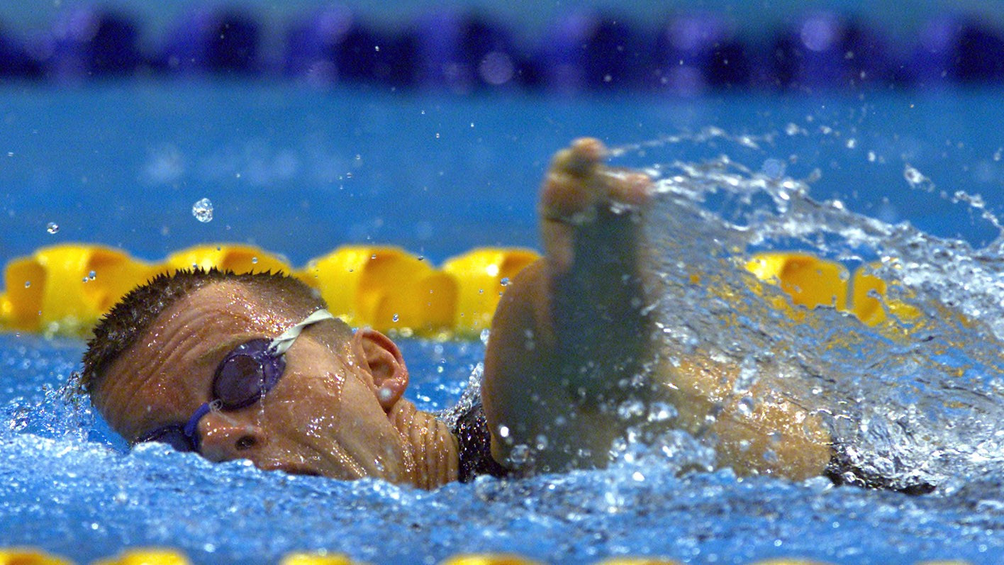 John Petersson is a 15-time Paralympic medallist in swimming ©Getty Images