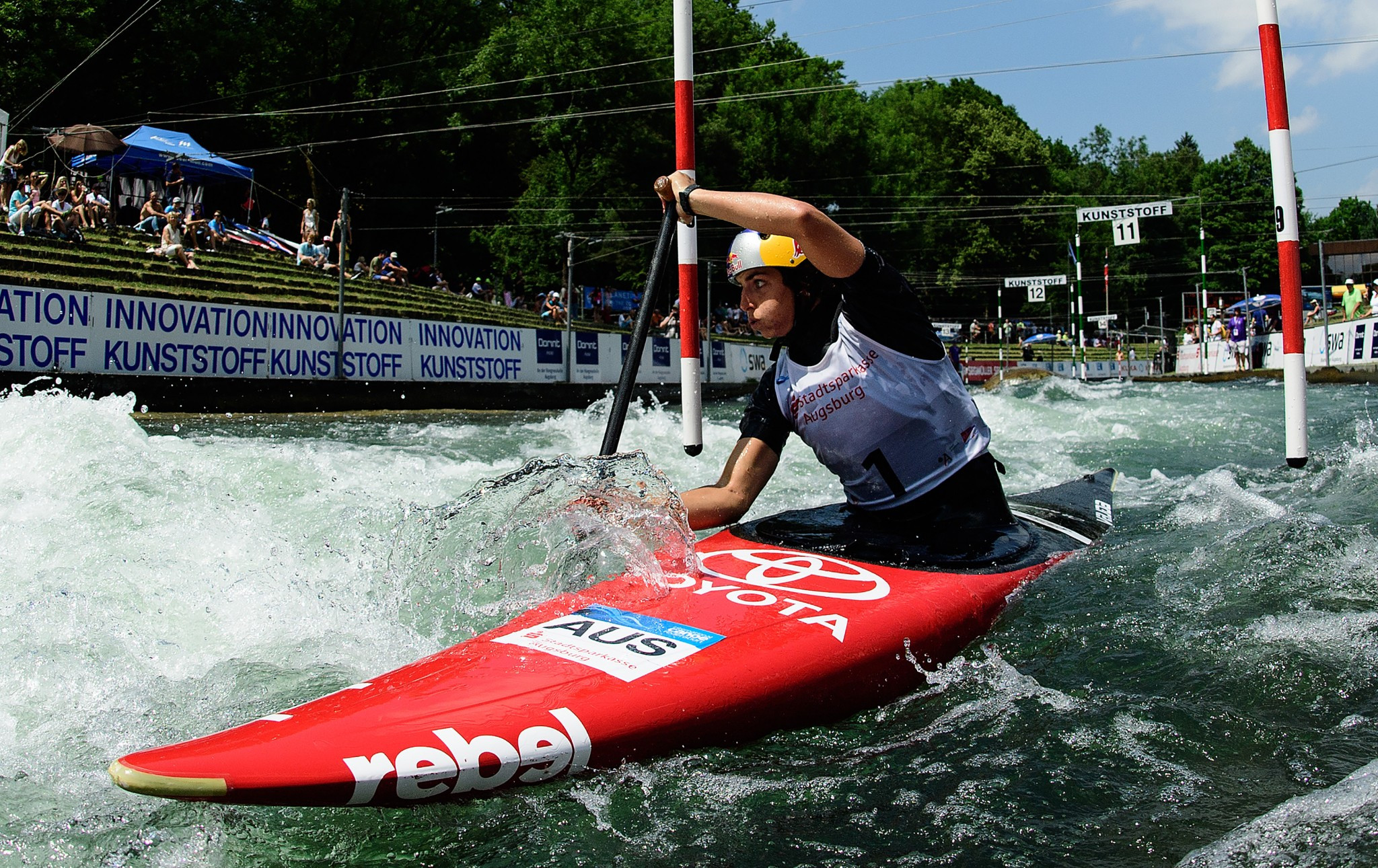 Fox aiming to extend series lead at Canoe Slalom World Cup in Ivrea