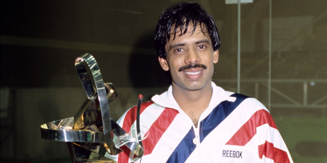 Pakistan's six-time world champion Jahangir Khan said he is delighted that PSA international men's and women's squash events will be held in his country following earlier concerns over safety ©PSA