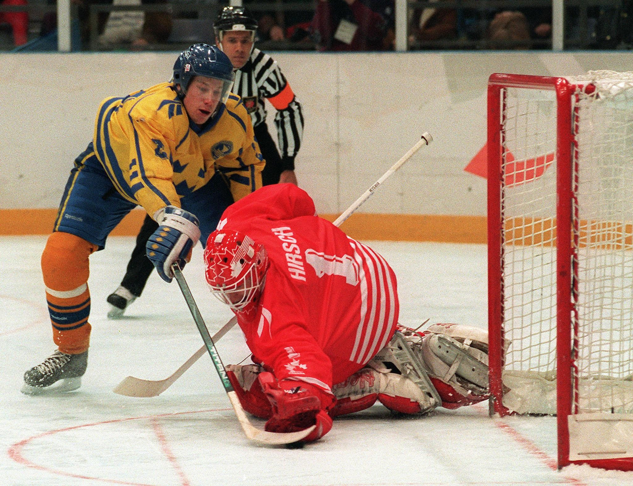 Lillehammer 1994 was the last Olympic men's ice hockey competition with no NHL participation ©Getty Images