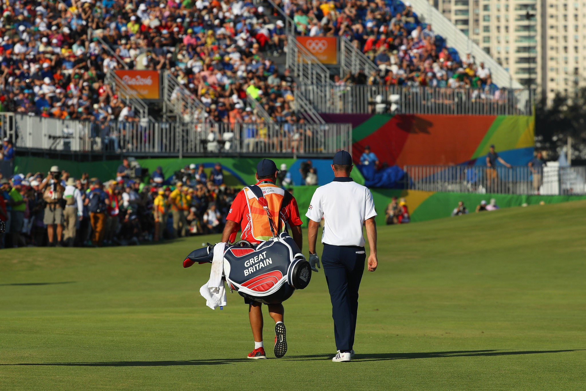 Britain's Justin Rose won the golf at Rio 2016, a thrilling event missing some top players ©Getty Images
