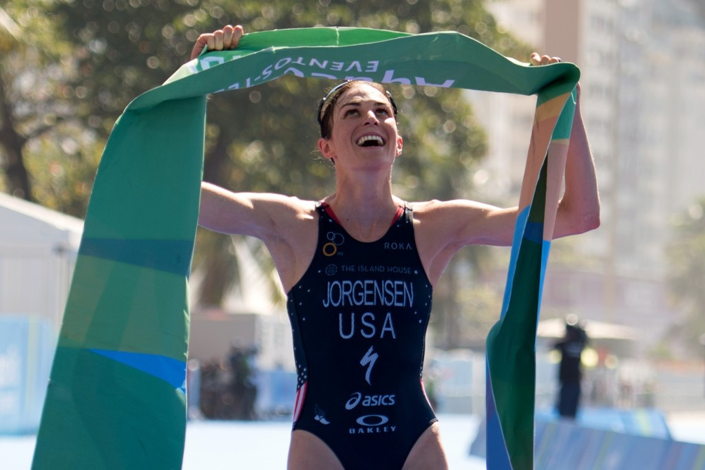 Jorgensen and Gomez win Rio 2016 triathlon test events to seal their places at next year's Olympics