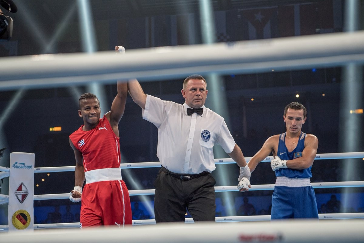 Cuba exert dominance on first day of semi-finals at AIBA World Championships