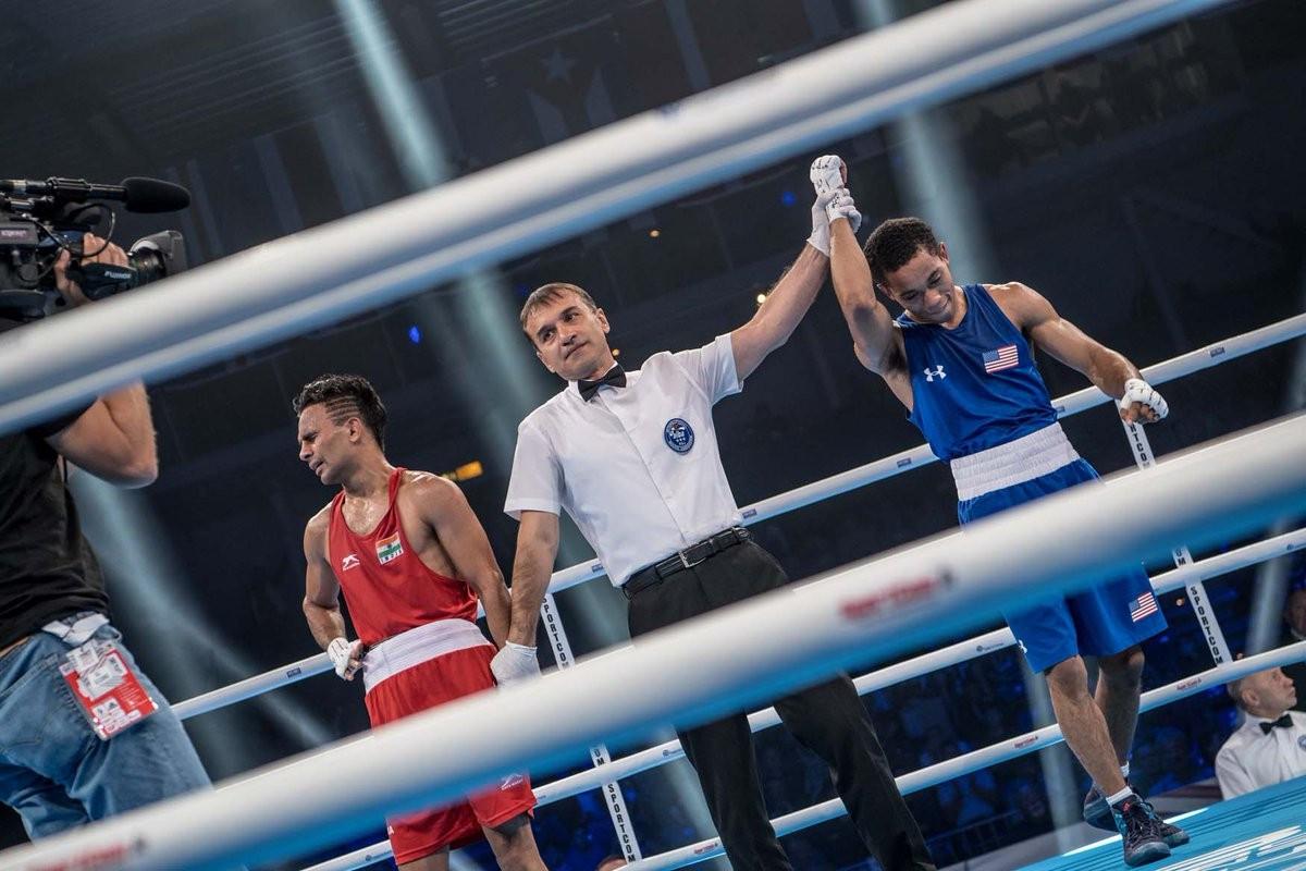 Indian bantamweight Gaurav Bidhuri suffered semi-final elimination from the 2017 AIBA World Championships this evening ©AIBA
