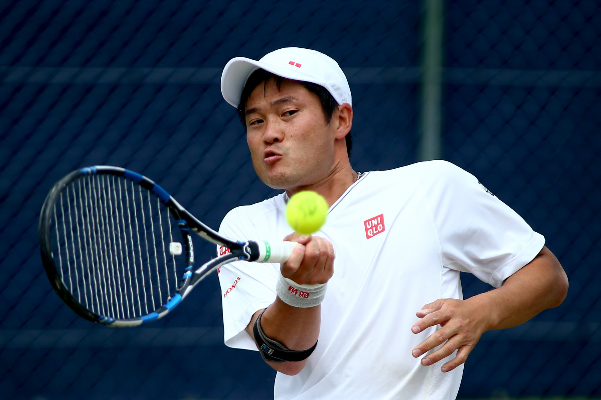Shingo Kuneida of Japan enjoyed a tough victory ©Getty Images
