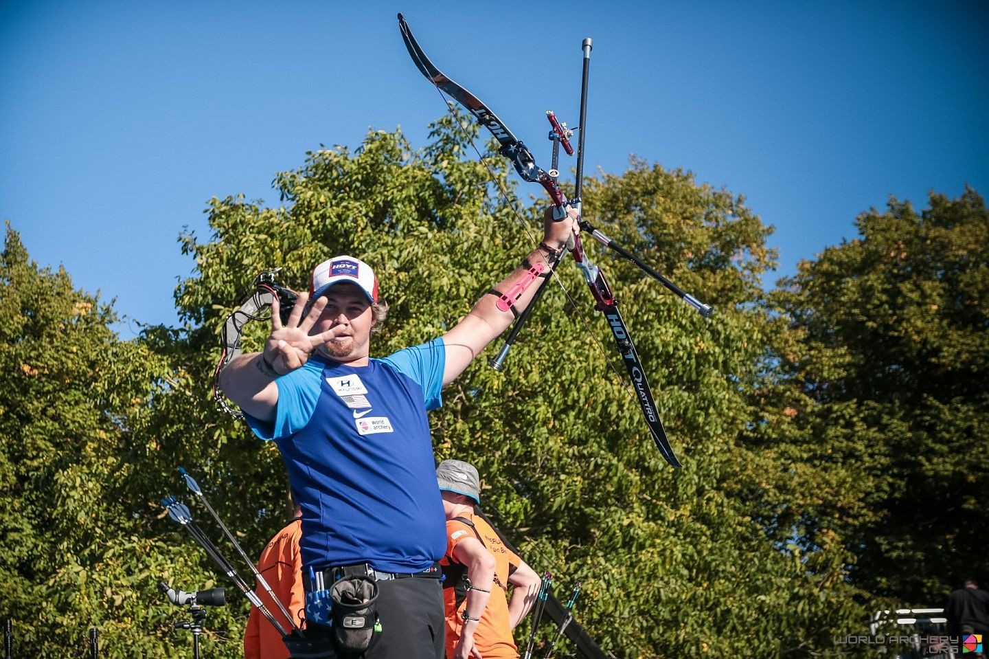Four-time Archery World Cup Final winner Brady Ellison is considered the man to beat in the men's recurve event ©World Archery
