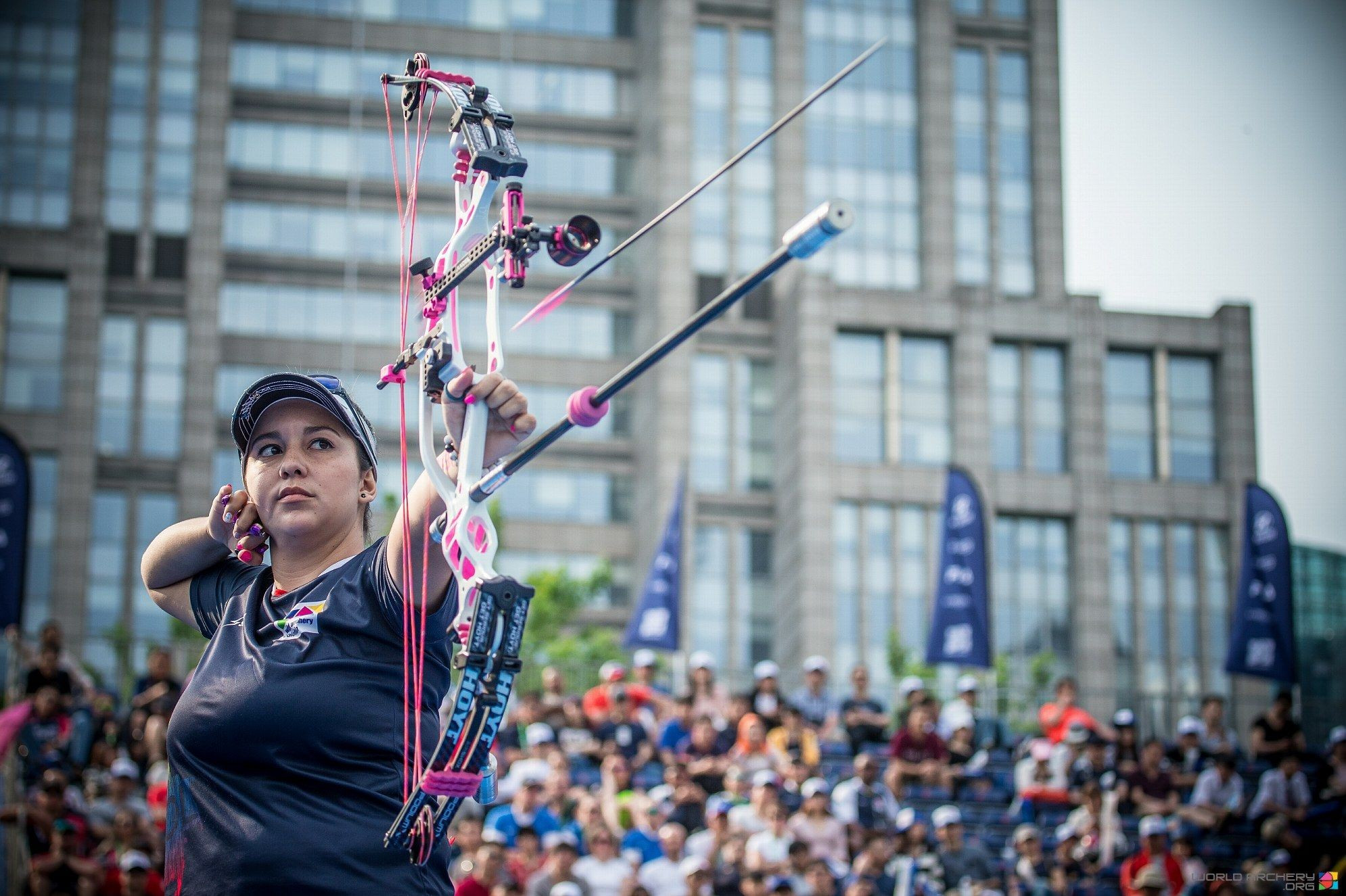 Colombia's Sara López will be bidding for a third women's compound Archery World Cup Final title this weekend with the 2017 edition scheduled to take place in Rome ©World Archery