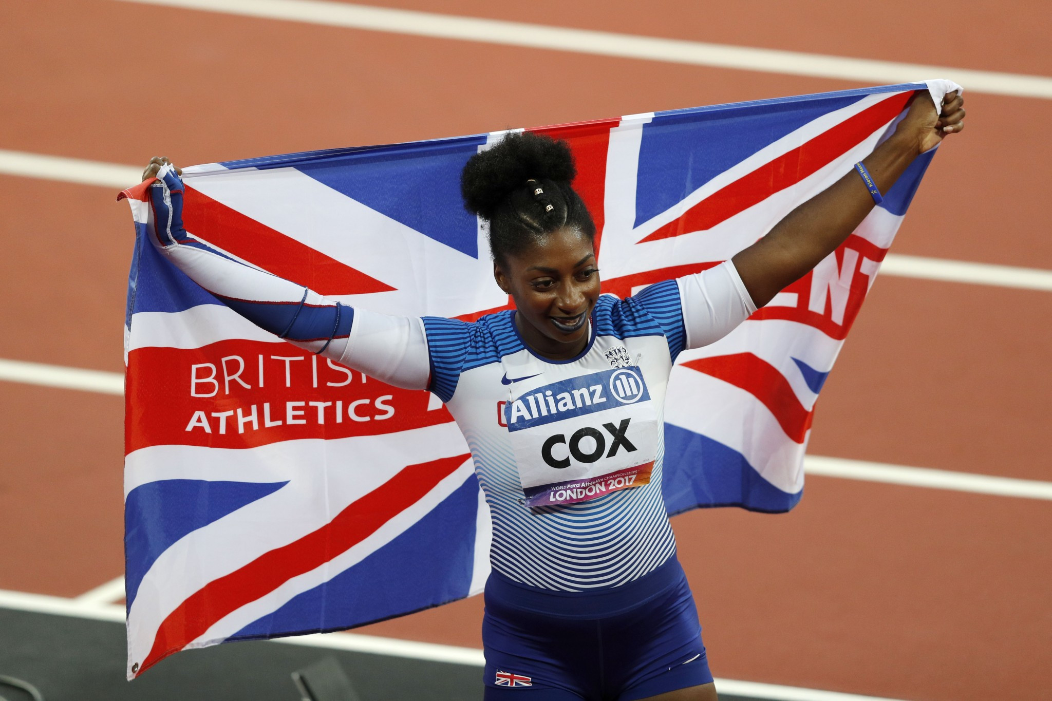 Great Britain's Kadeena Cox is a contender for the best female debut award ©Getty Images