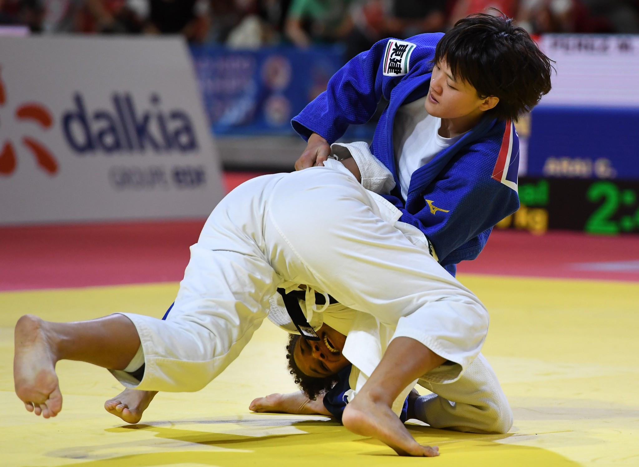 Chizuru Arai claimed Japan's sixth gold medal of the Championships ©Getty Images