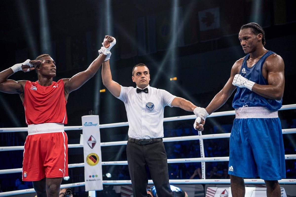 La Cruz on brink of claiming fourth consecutive light heavyweight crown at AIBA World Championships