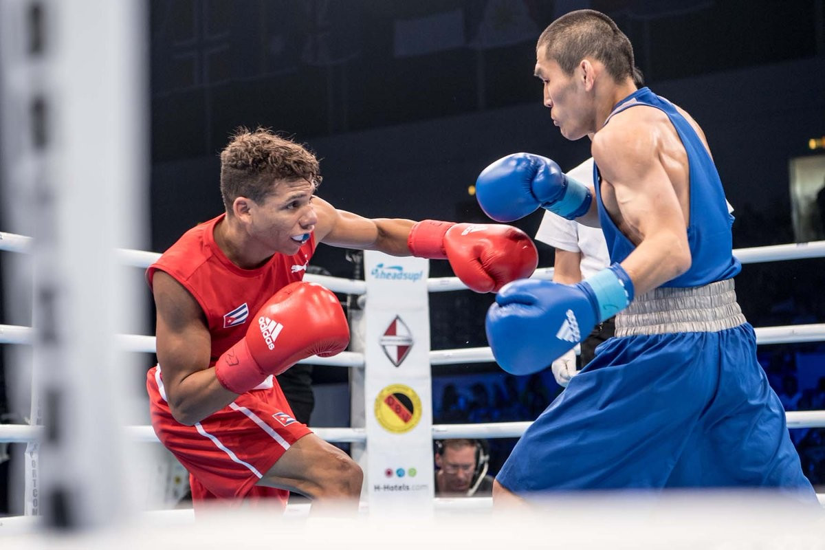 Cuba shine once more on second day of semi-finals at AIBA World Championships