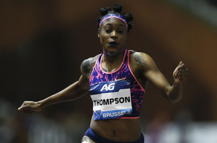 Jamaica's Olympic 100 and 200m champion Elaine Thompson wins the Diamond Trophy at the latter distance in tonight's second IAAF Diamond League final in Brussels ©Getty Images