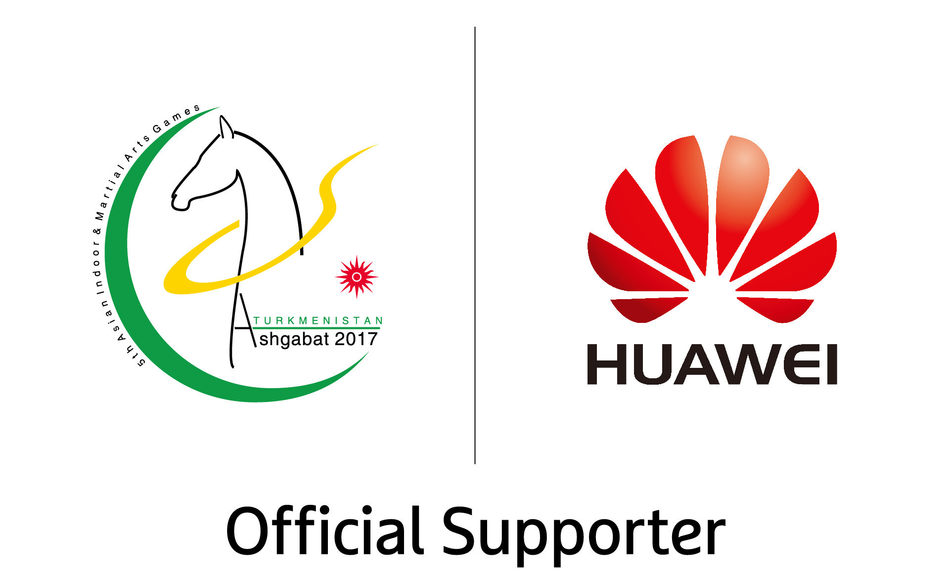 Ashgabat 2017 announce Huawei as official supporter
