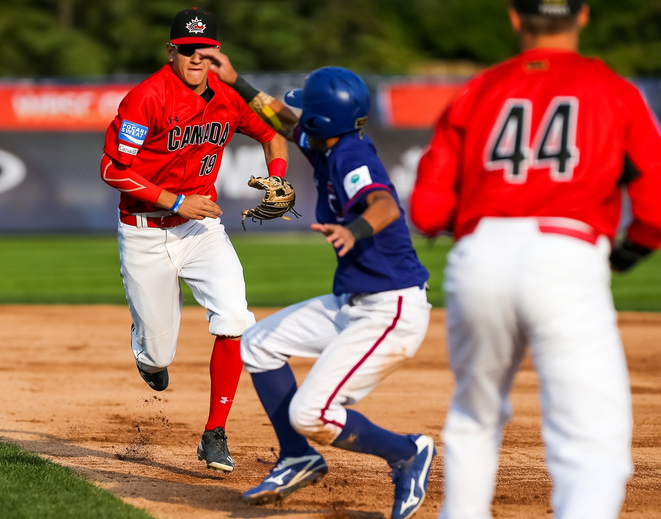 Chinese Taipei disappointed hosts Canada on day one ©WBSC