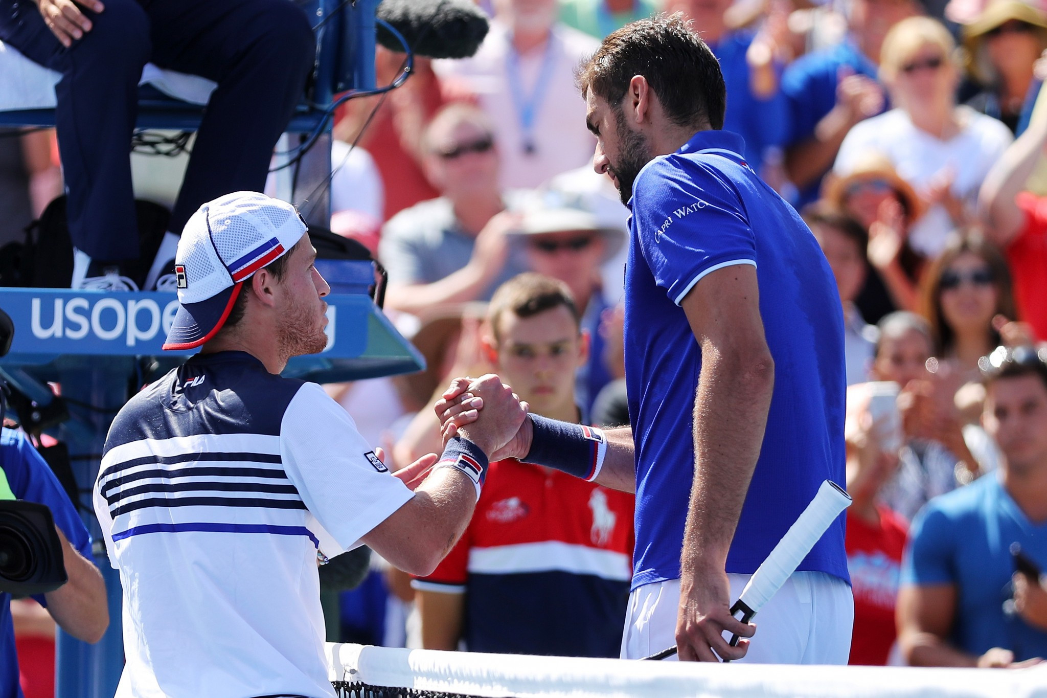 Former champion Cilic suffers shock elimination at US Open