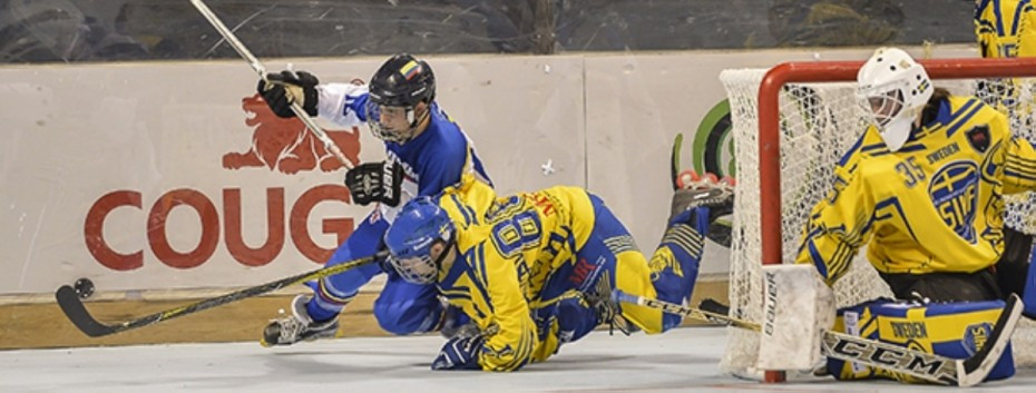 Inline hockey action continued today ©Marco Guariglia/FIRS