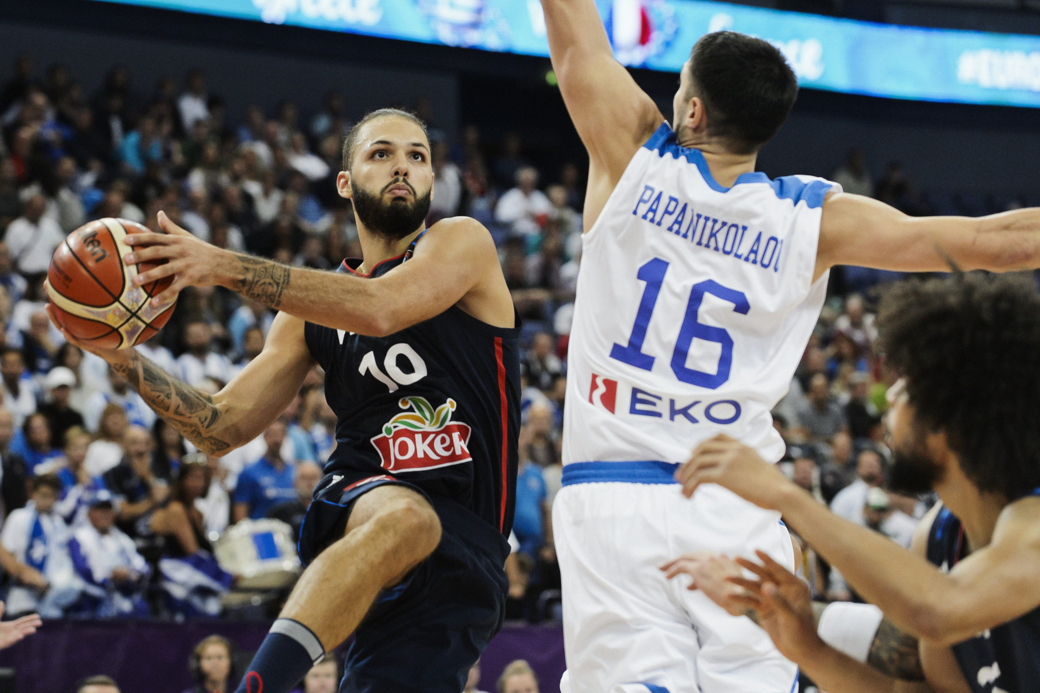 France bounce back from shock defeat at EuroBasket