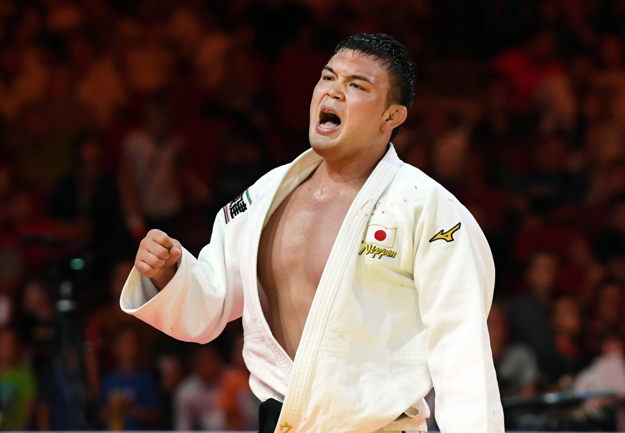Wolf roars to claim seventh Japanese gold medal as Yu defends title at IJF World Championships