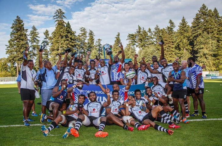 Fiji claimed their second Pacific Nations Cup title by beating Samoa in a thrilling final in Canada ©Lorne Collicutt/World Rugby
